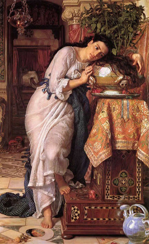 Hunt,_William_Holman_—_Isabella_and_the_Pot_of_Basil_—_1867