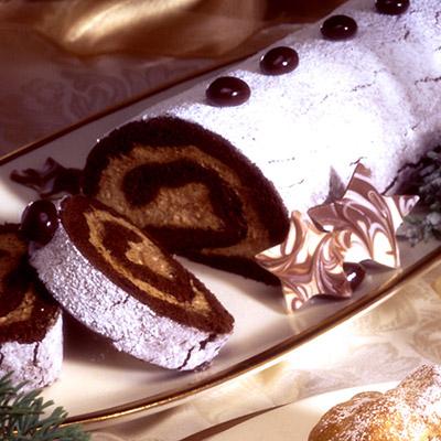 Tronchetto Di Natale Montersino.Pasta Biscuit O Base Per Rotolo Al Cioccolato Pausa Caffe