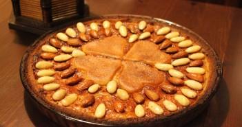 crostata ricotta e mandorle