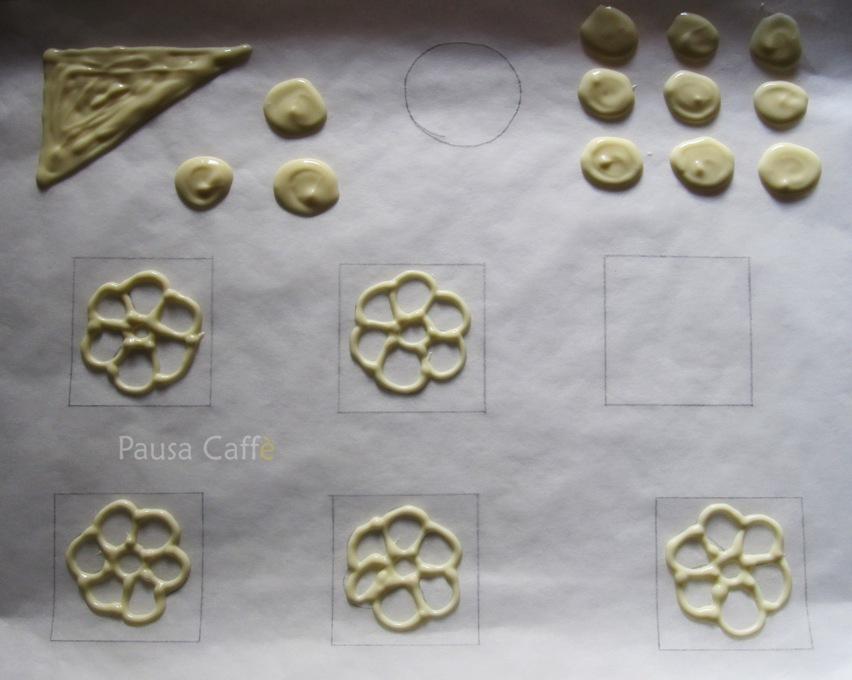 Decorazioni Con I Tre Cioccolati Pausa Caff