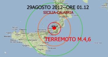 Terremoto - sisma stretto di Messina