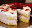 Torta Giardino di fragole (5) F