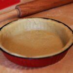 Crostata con crema cotta ed uva (2) F