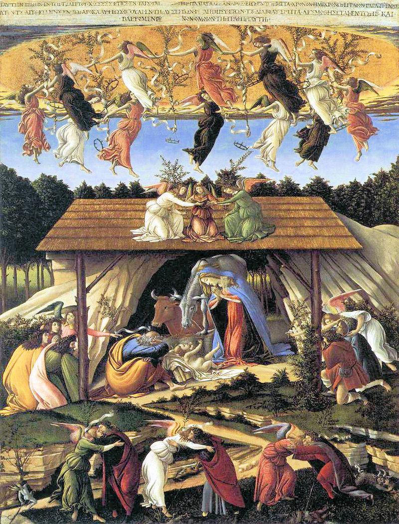 Natività Mistica di Botticelli