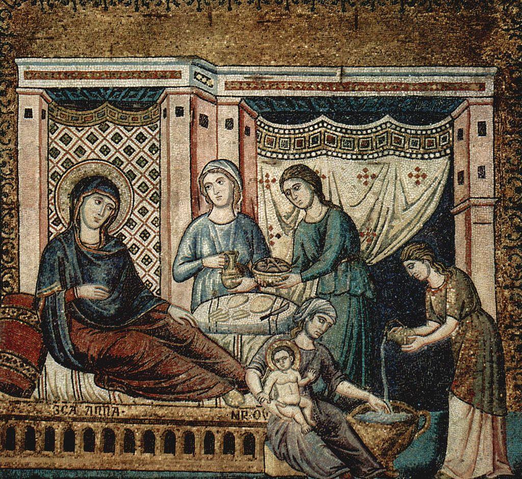 Natività di Pietro Cavallini