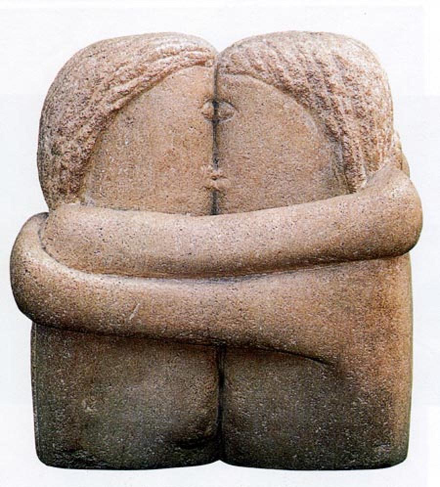 Costantin Brancusi, Il bacio