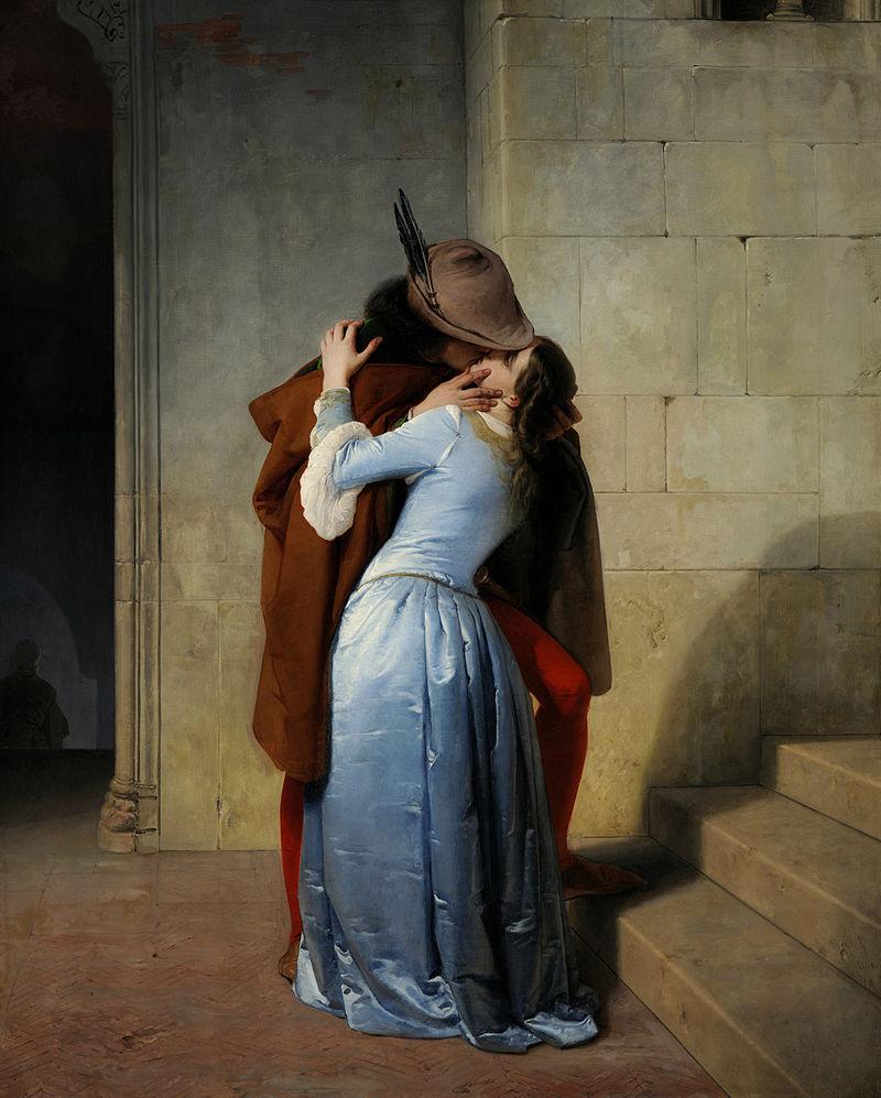 Francesco Hayez, ''Il bacio'' (2)