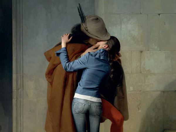 Francesco Hayez, ''Il bacio' moderno