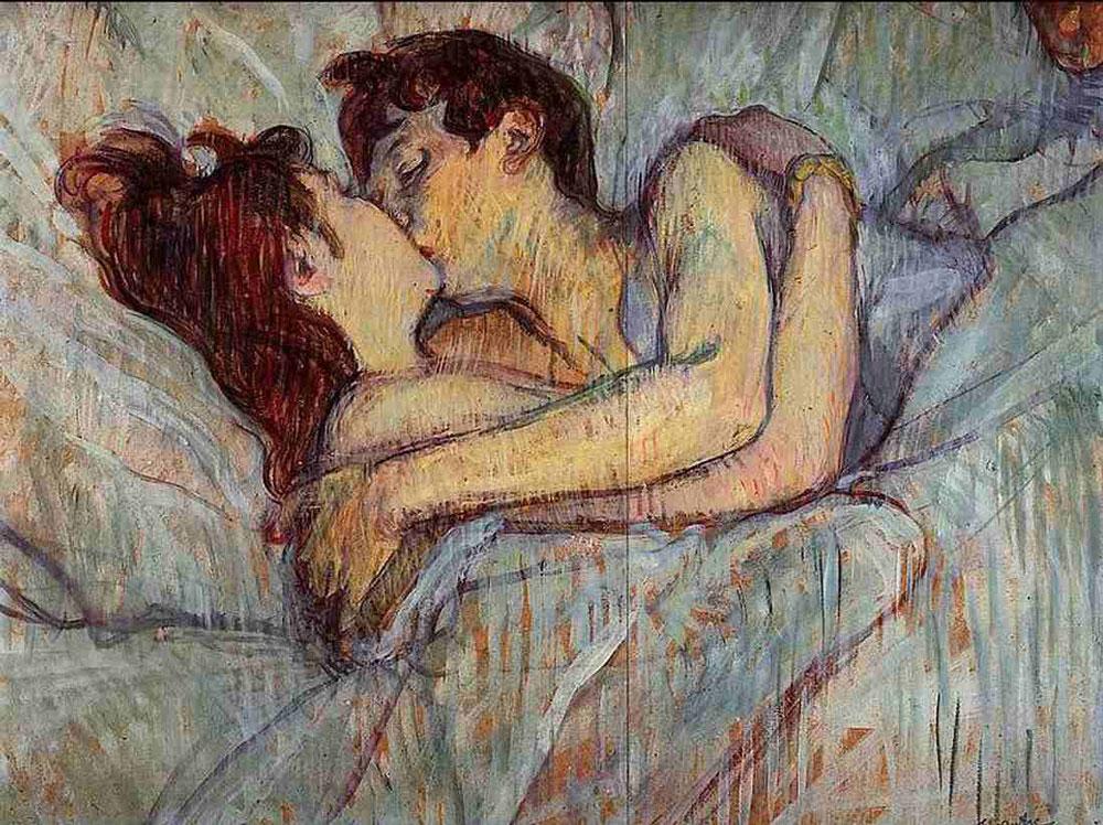 Henri-de-Toulouse-Lautrec-(A-letto,-il-bacio)