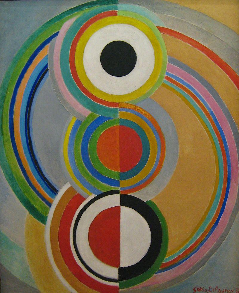 800px-Sonia_Delaunay,_Rythme,_1938