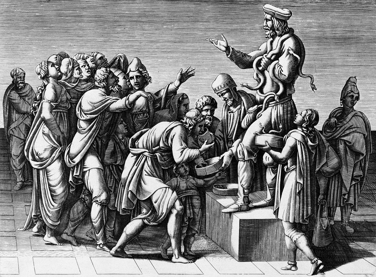 Diana Scultori Ghisi (Mantova, 1547 – Roma, 5 aprile 1612) è stata un'artista italiana manierista, attiva tra la fine del XVI secolo e gli inizi del XVII secolo. Il suo nome di famiglia è spesso erroneamente dato in ve
