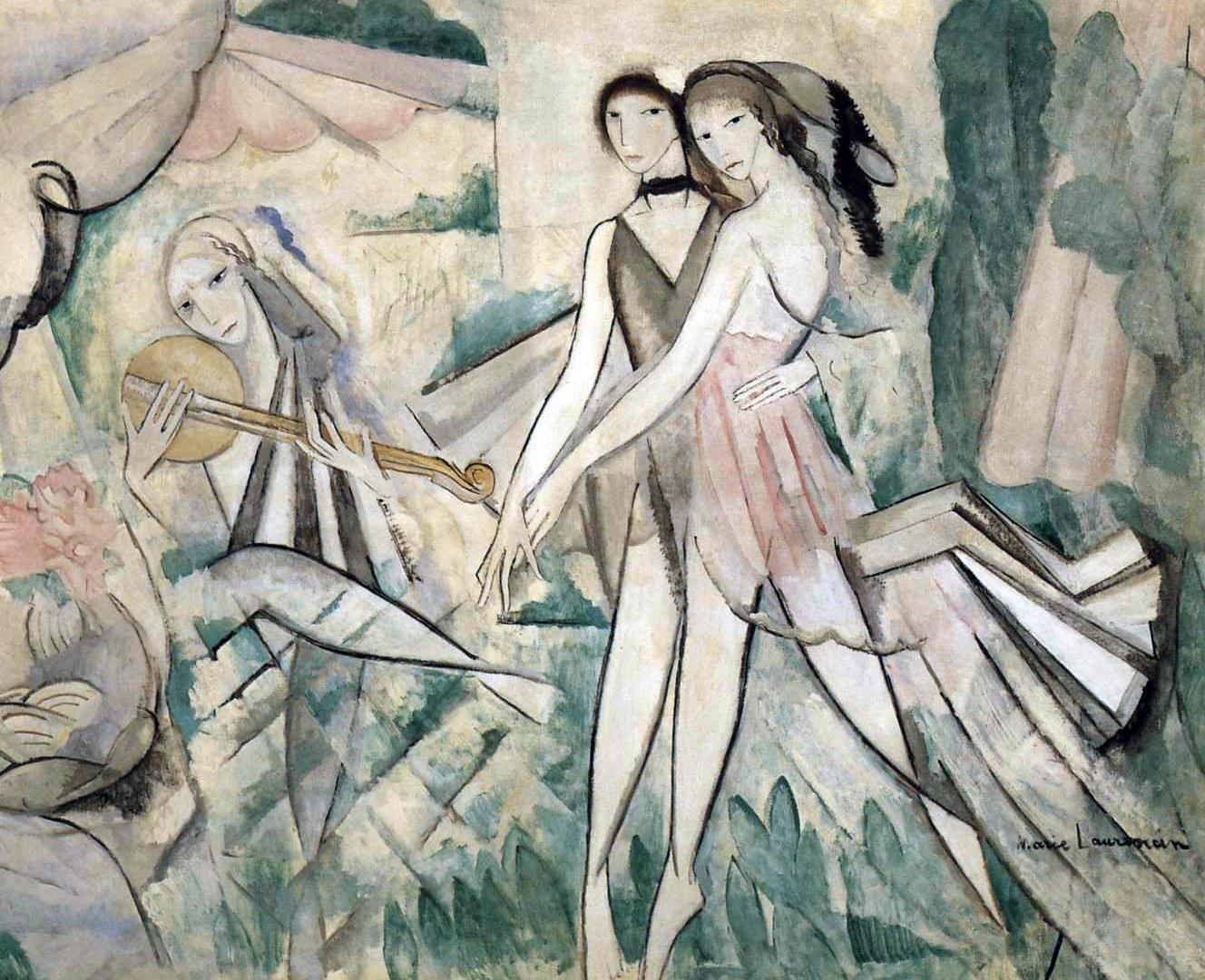 Marie_Laurencin,_1913,_Le_Bal_élégant,_La_Danse_à_la_campagne.