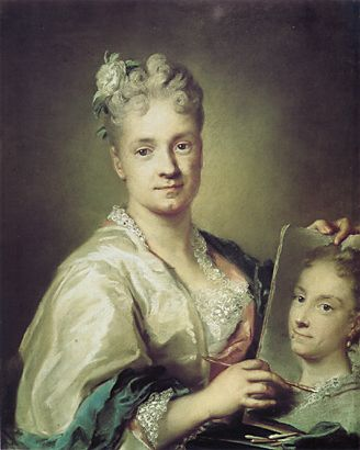 Rosalba_Carriera_Self-portrait