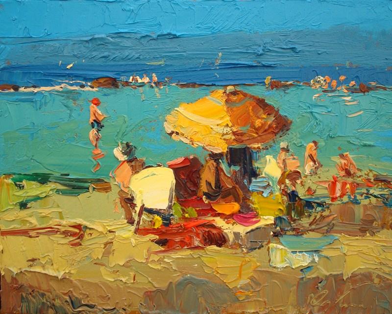 Agostino Veroni - Al mare d'estate