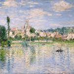 Claude Monet  - Vetheuil in estate