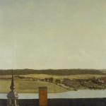 Christian Købke - Roof Ridge of Frederiksborg Castle, 1834