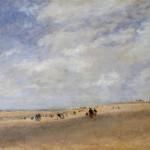 David Cox - Rhyl Sands, 1854