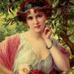 Émile Vernon - A summer rose