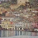 Gustave Klimt - Veduta di Malcesine