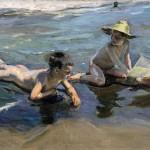 Joaquín Sorolla - Niños en la playa