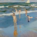 Joaquín Sorolla - Niños en la playa de Valencia (1908)