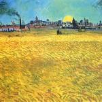VAN GOGH - Sera d'estate ad Arles (1888)