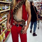 00089_13. Man with Python, Los Angeles, 1991.