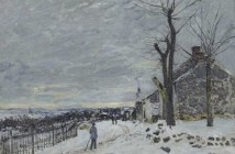 Alfred_Sisley Tempo da neve a Veneux Nadon