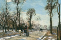 Camille Pissarro Route de Versailles