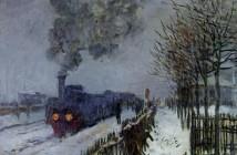 Claude Monet Il treno nella neve