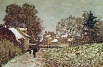 Claude Monet Neve ad Argenteuil -1874