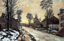 Claude Monet STRADA PER LOUVECIENNES