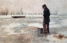 Cornelis Vreedenburgh fisher-on-the-ice