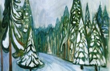 Edvard Munch New Snow 1900-01