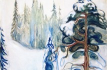 Edvard Munch Winter 1899
