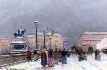 Eugène Galien-Laloue  Le-Pont-Neuf-