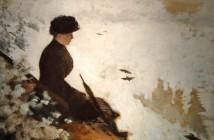 Giuseppe De Nittis Snow effect