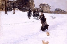 Giuseppe De Nittis Sulla neve