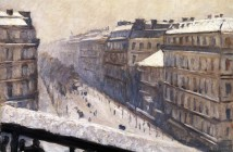 Gustave Caillebotte Snow 1880