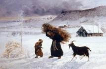 Gustave Courbet Povera donna del villaggio