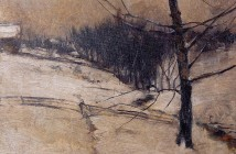 John Henry Twachtman snow (2)