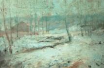 John Henry Twachtman snow