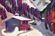 Kirchner, Ernst Ludwig  Pista da gioco nella neve