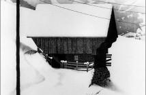 M.C. Escher 1936 snow