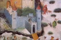 Mastro Venceslao, Ciclo dei mesi castello del Buoconsiglio Trento- Gennaio