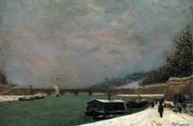 Paul Gauguin La senna al ponte d'Iéna