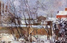 Paul Gauguin Snow Rue Carcel