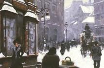 Paul Gustave Fischer Inverno_a_copenhagen_1900