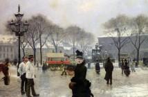 Paul Gustave Fischer inverno_a_copenhagen_1888