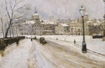 Paul Maze Whitehall in Winter 1920